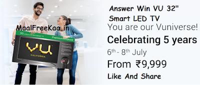 Vu Ultra Smart 80cm (32 inch) HD Ready LED Smart TV