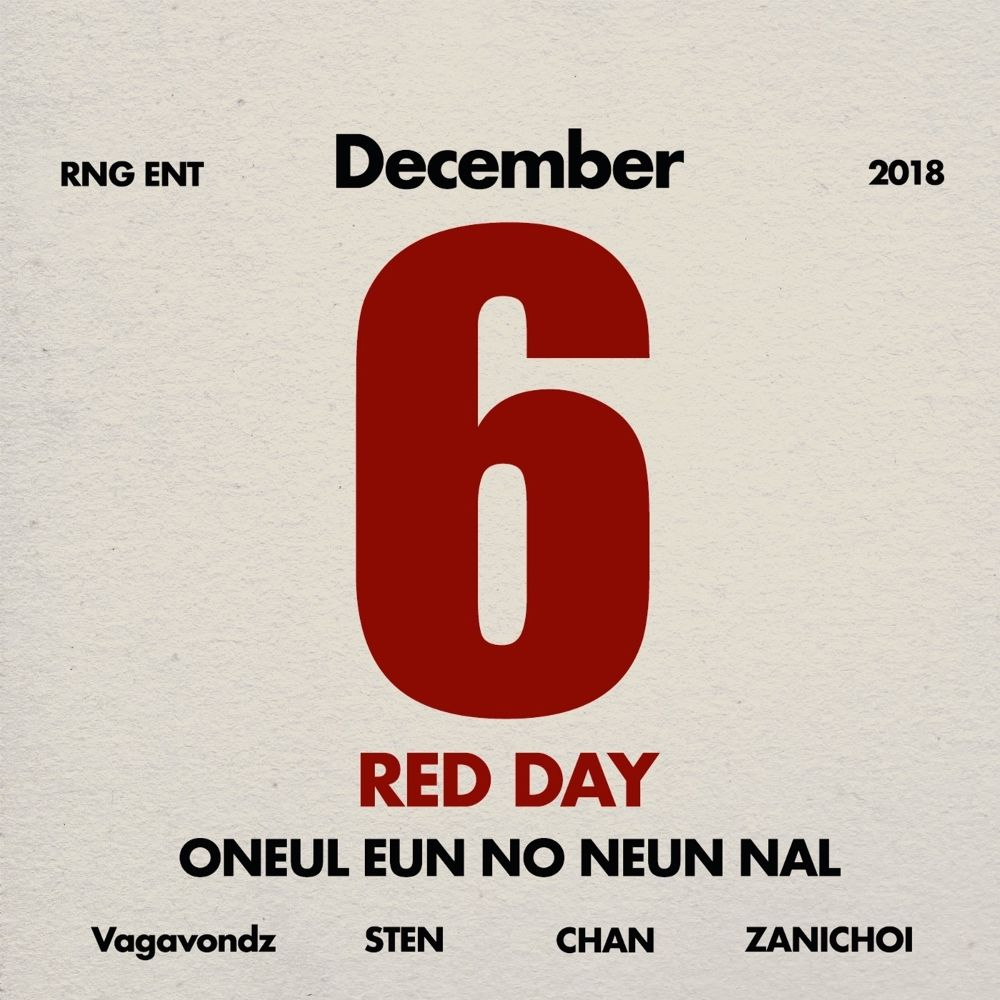 STEN, ZANI CHOI, CHAN, VagaVondz – RED DAY – Single