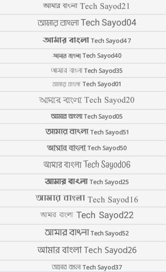 Download 50 Best bangla font in Google Drive [৫০ টি বাংলা ফন্ট ডাওনলোড করুন]
