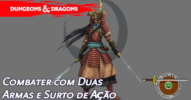 Combater com Duas Armas D&D 5ª Edição