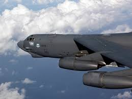 The US Air Force has deployed B52 heavy bombers to the Middle East