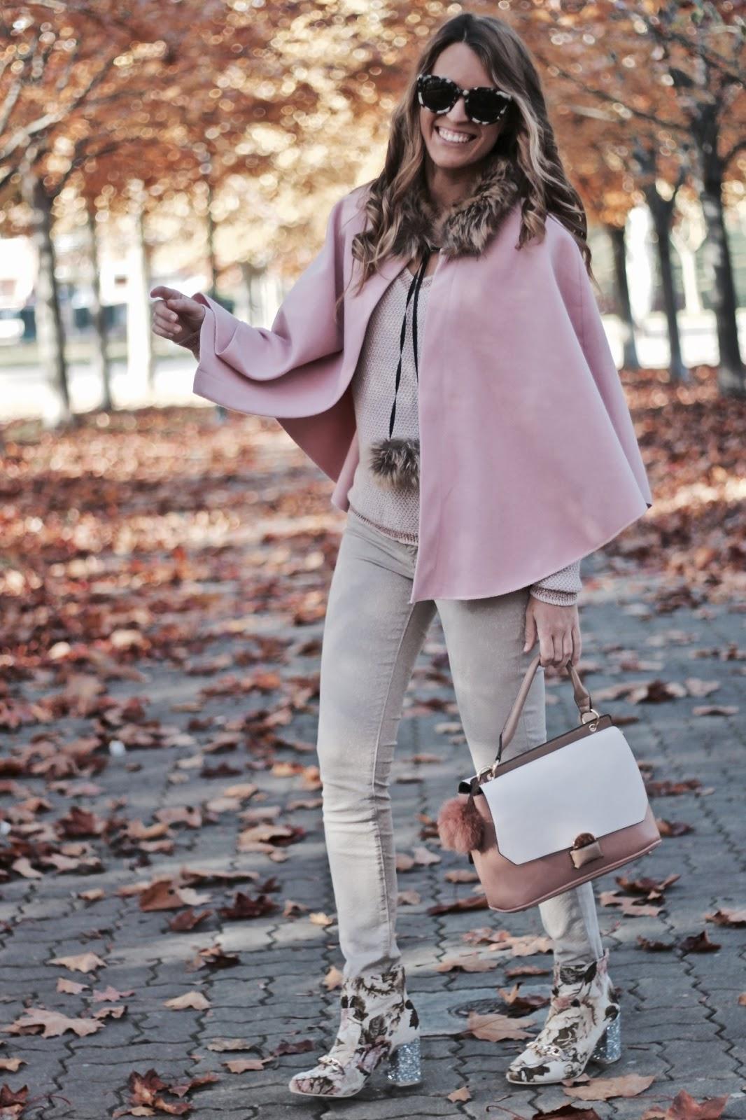 capa rosa bebe