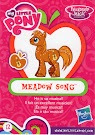 My Little Pony Wave 13 Meadow Song Blind Bag Card