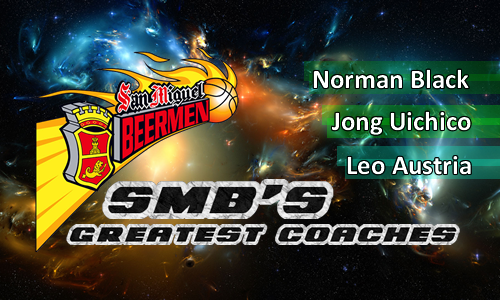 List of San Miguel Beermen Coaches Who Won Championships