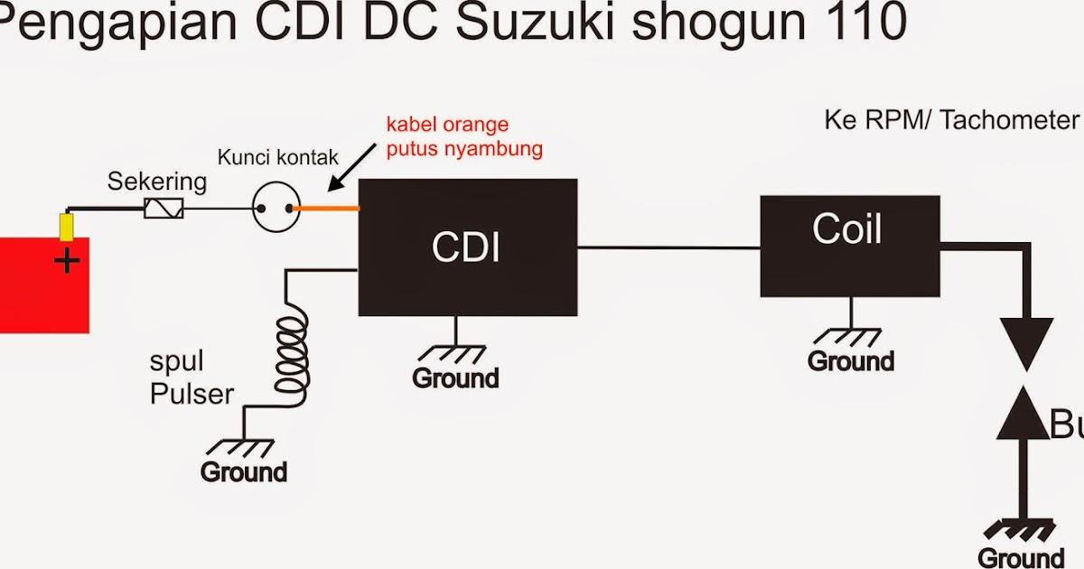 Cara Memperbaiki Cdi Shogun 110