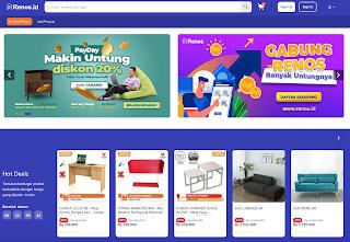 Renos.id Kini Hadir di Indonesia; Marketplace Online Pertama Berikan Solusi Belanja Home Living Online Berkualitas dan Siap Sokong Perekonomian  Digital Indonesia. Digital Economy.
