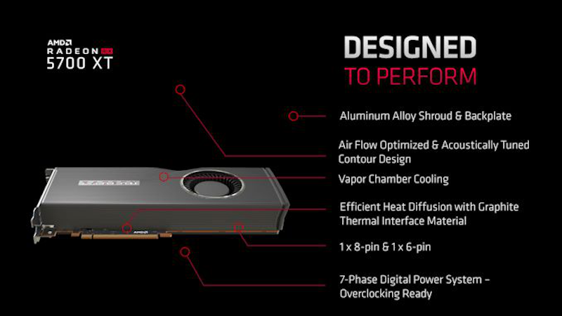 AMD Radeon RX 5700 series to be available on July 7, starts at USD 379