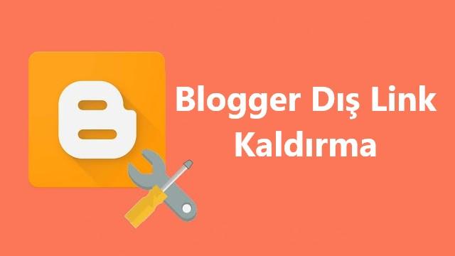 Blogger Dış Link, Düzenle Butonu Kaldırma!