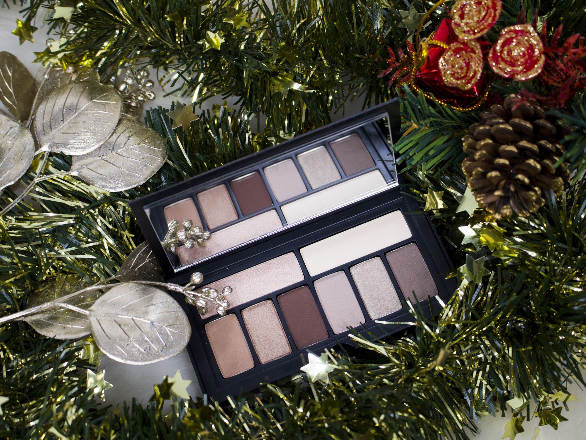 ideen für geschenke zu weihnachten empfehlungen für beauty produkte make up lidschattenpaletten