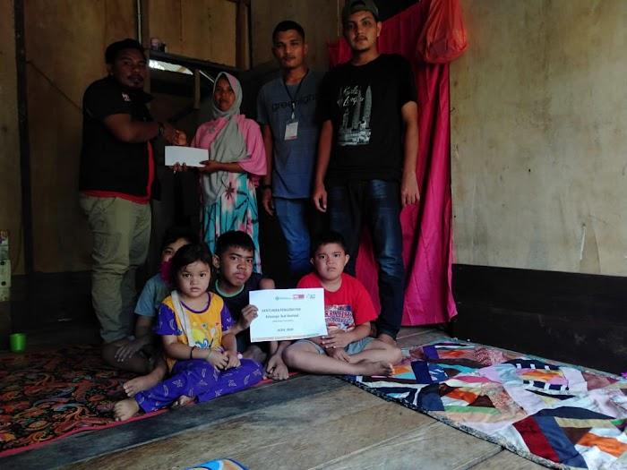 Isak Tangis Nurhadi, Ibu dari Tiga Anak Lumpuh Layu Asal Aceh Timur