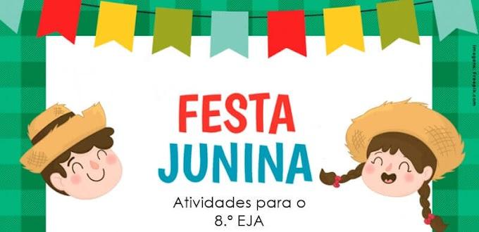 A Festa Junina retratada na Arte Brasileira - Atividades de Artes para o 8.º EJA