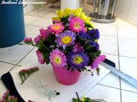 Blumengestecle DIY