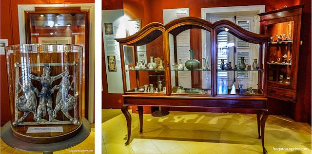 """Exposição """"Terras de Abraão"""", sobre a diáspora dos judeus, no Museu Kura Hulanda de Curaçao"""