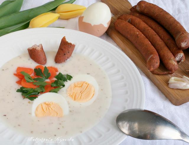 Wielkanoc, zupa wielkanocna, świąteczna zupa