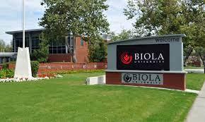 Freshman Academic International Scholarship Biola University