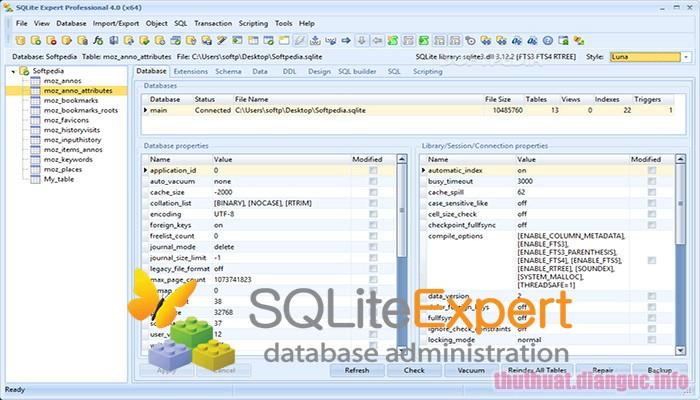 Download SQLite Expert Professional 5.3.4.457 Full Crack