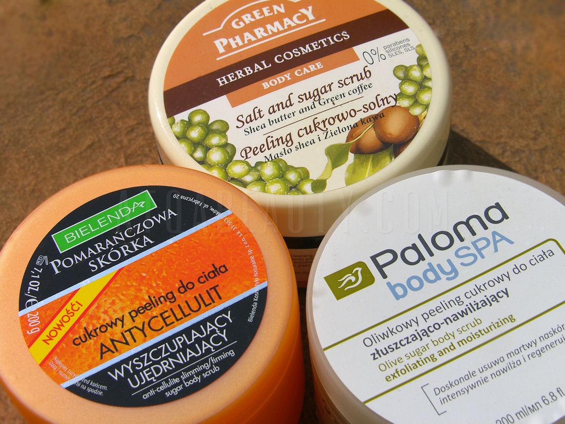 Peelingi do ciała: Bielenda, Green Pharmacy, Paloma