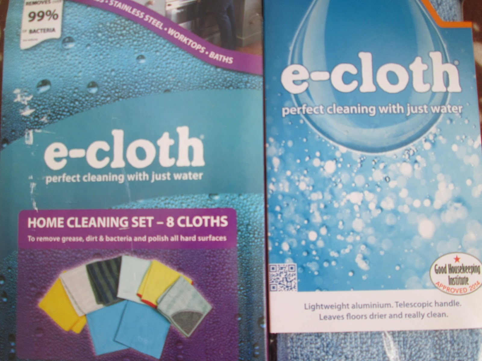 e-cloth home cleaning set and deep cleaning mop