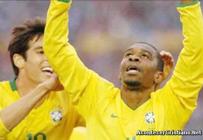Futbolistas brasileños cristianos evangélicos