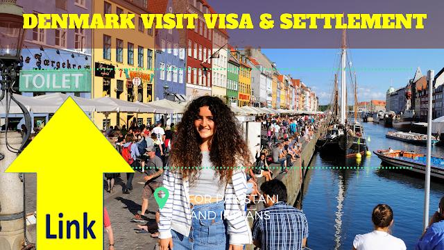 DENMARK VISIT VISA & SETTLEMENT