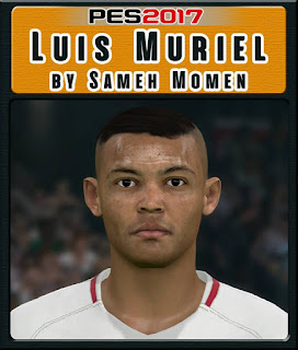 PES 2017 Faces Luis Muriel by Sameh Momen