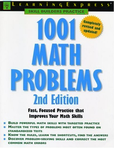 1001 Math Problems 2nd Edition in pdf