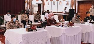Pj.Gubernur Jambi Siapkan Rencana Strategis Antisipasi Bencana Alam dan Karhutla