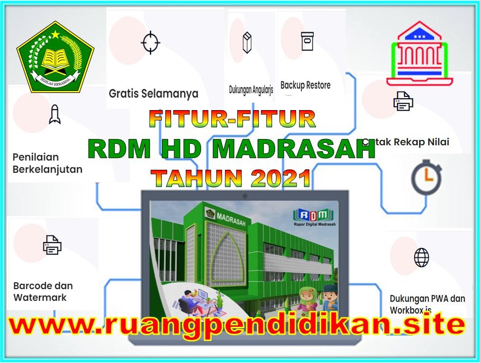fitur Aplikasi RDM HD Madrasah