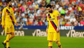 هزيمة ثالثة لبرشلونة في مباراته مع ليفانتي