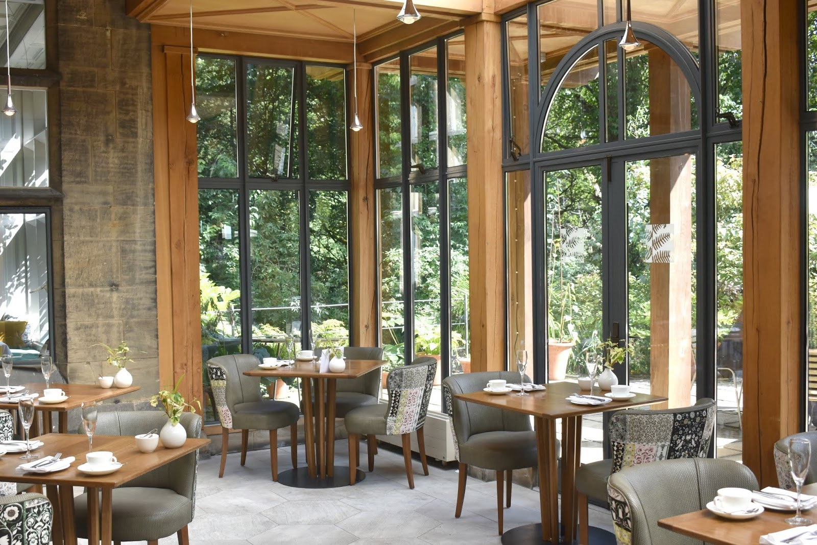 Lunch and a Refurbishment at Jesmond Dene House