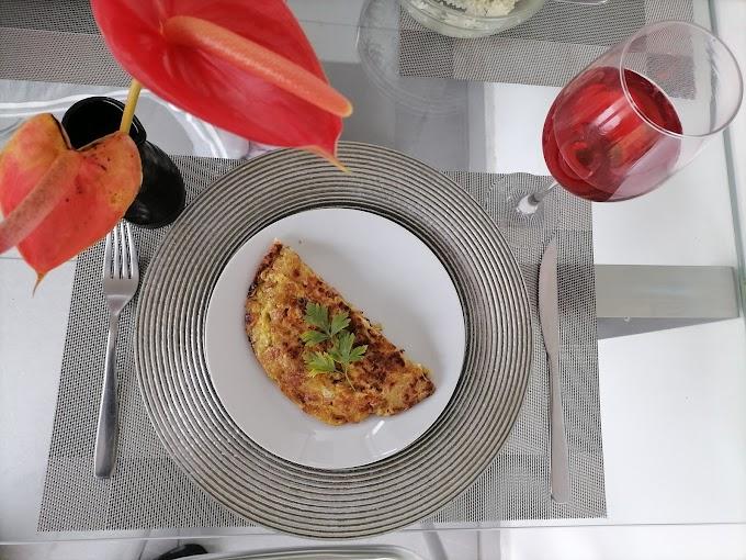 Receta de tortilla española o tortilla de patatas