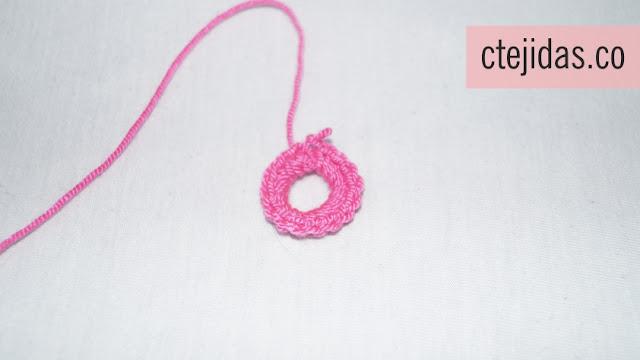 Granny para Chal a Crochet - Paso a Paso