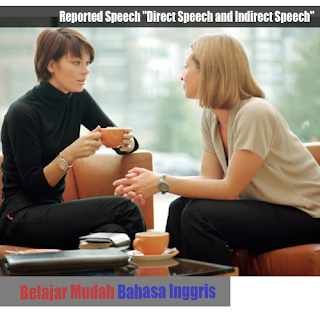 "Penjelasan tentang Reported Speech ""Direct Speech and Indirect Speech"""