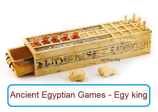 Ancient Egyptian play piece
