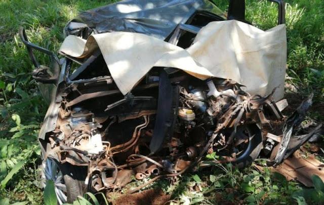 Dos muertos tras despiste fatal en Caraguatay