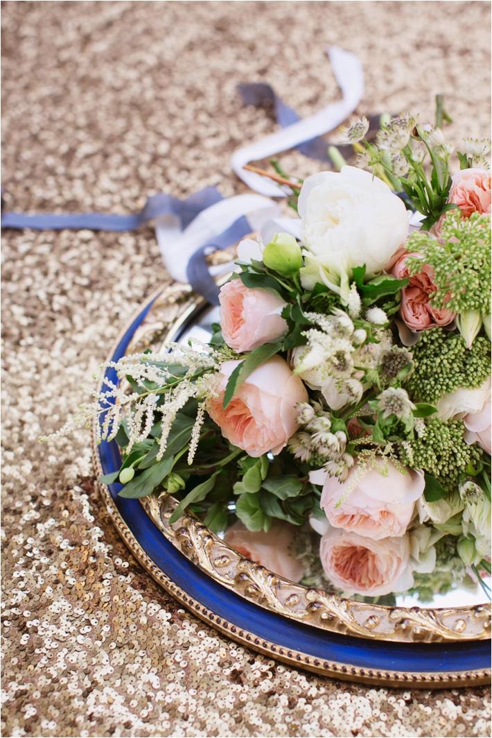 Rancho Las Lomas Wedding Inspiration | White and Peach Bouquet | Damaris Mia Photography
