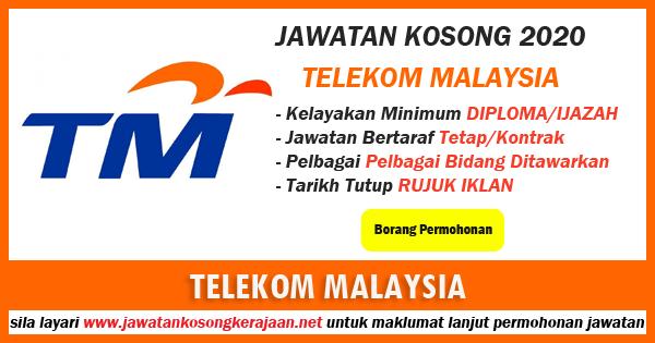 jawatan kosong Telekom Malaysia 2020