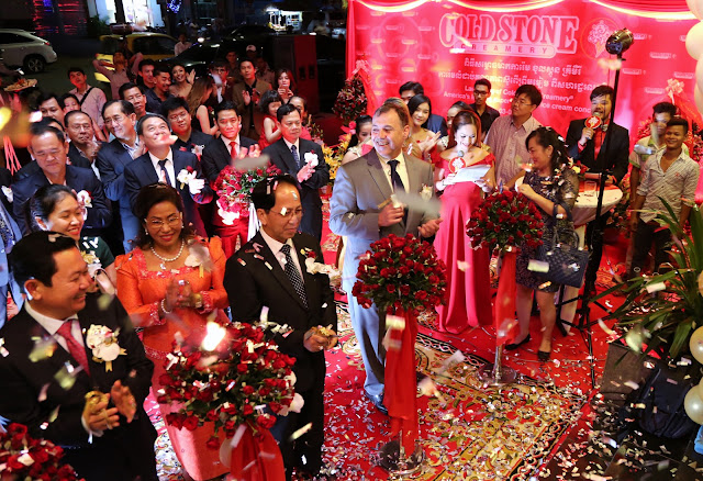 Ouverture officielle de Cold Stone Creamery. Photographie by Un Yara (CC)