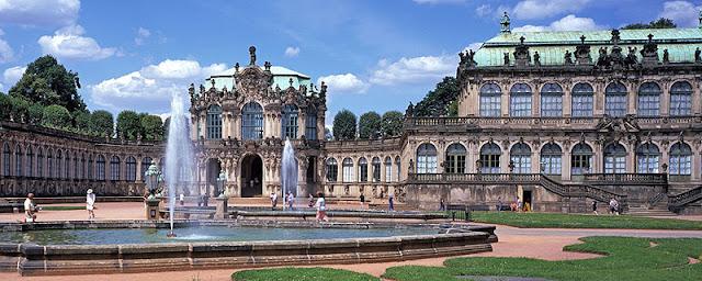 Palácio Zwinger em Dresden