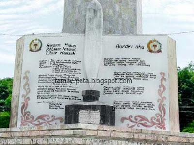 Monumen Penghargaan Raksasa Tengku Amir Hamzah