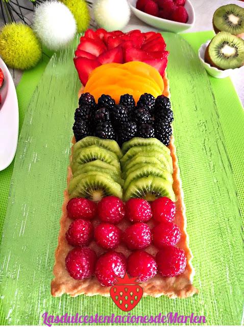 Tartaleta De Frutas Y Crema De Almendras