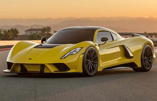 Hennessey Venom F5 планирует стать самым быстрым авто в мире.