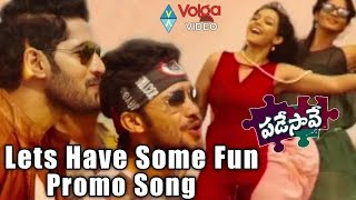 Nuvvilaa Song Promo __ Padesave Telugu Movie __ Karthik, Nitya Shetty, Sam Zahida, Vishwa
