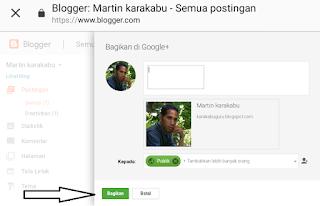 Cara Membuat Blog di Blogspot, Langsung dengan Tulisan Perdana