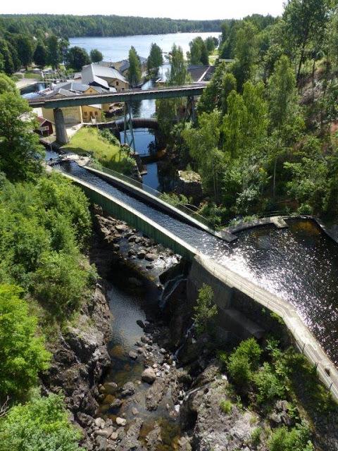 Haverud Aquädukt Schweden Campingtrip Urlaub mit Hund Rundreise Roadtrip Sommer