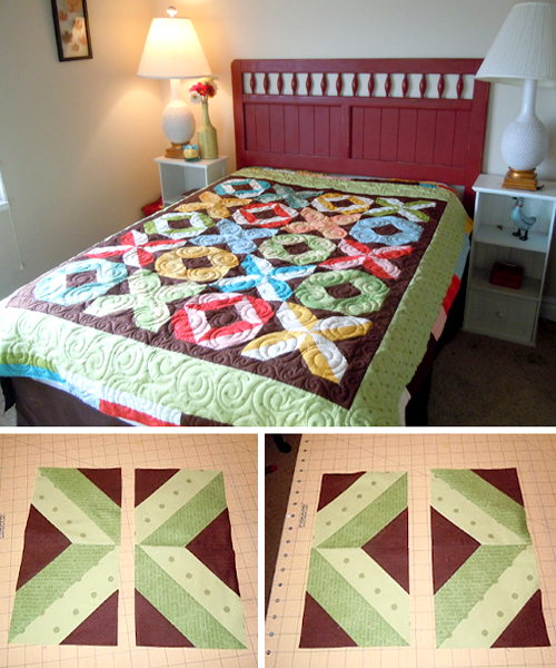 X and O Quilt - Tutorial