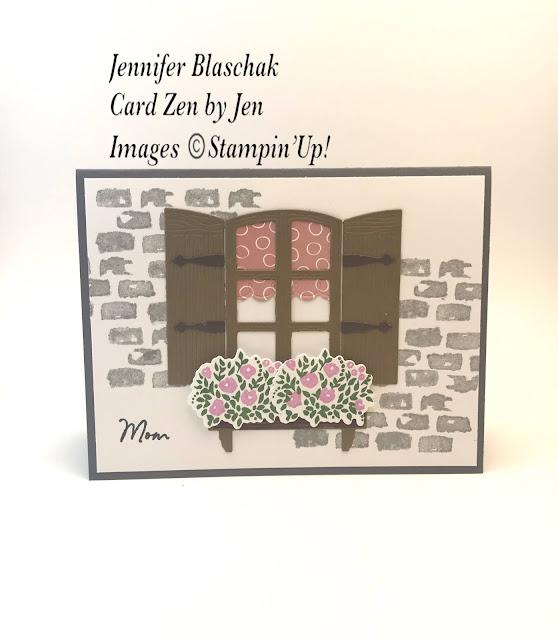 Window Flower Box Dies