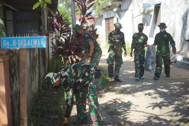 Wujudkan Kemanunggalan TNI Dengan Rakyat, Rindam XII/Tpr Gelar Karya Bhakti