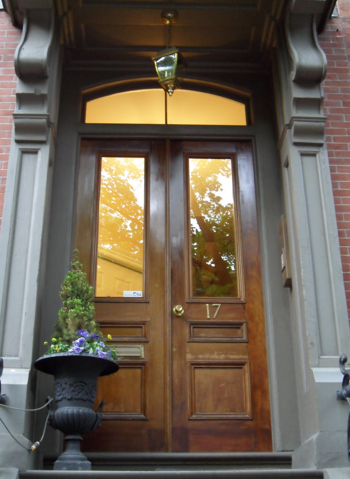 Tattered Style Brownstone Doors