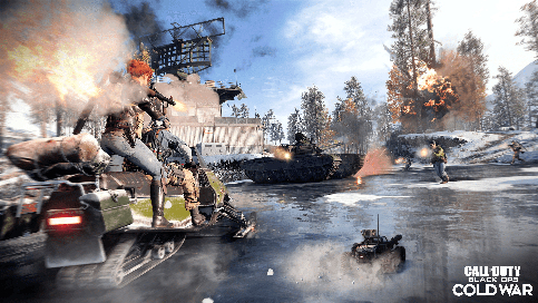 l'Alpha de Call of Duty Black Ops : Cold War sur PS4